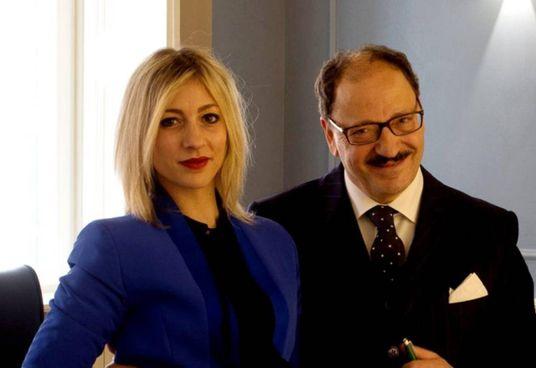 Gli avvocati Gennaro e Daria Esibizione