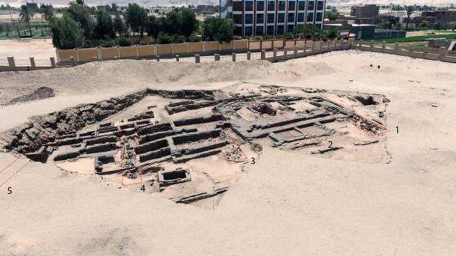 Ciò che resta dell'antico birrificio scoperto in Egitto