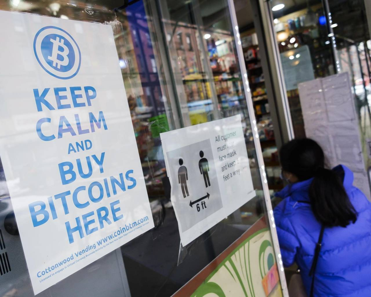 Un 'bancomat' di Bitcoin a New York