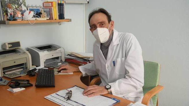 Andrea Mangiagalli, medico di famiglia a Pioltello
