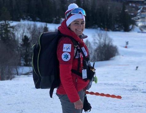 Samira Zargari, 37 anni, ha smesso di sciare nel 2018. Ora guida la nazionale di sci alpino dell'Iran qualificata ai Mondiali