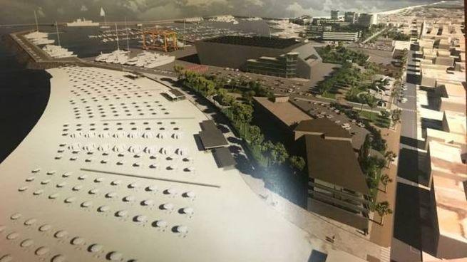 I progetti dell'area portuale predisposti dalla società Eurobuilding di Umberto Antonelli