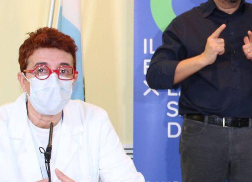 Laura Viola, direttore della Pediatria di San Marino