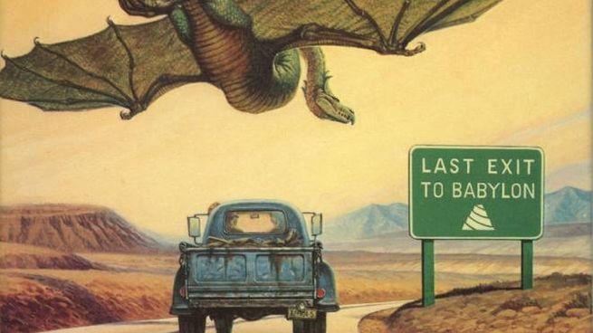 Dettaglio della copertina dell'edizione statunitense di 'Roadmarks' - Foto: Del Rey