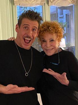 Francesco Gabbani con Ornella Vanoni