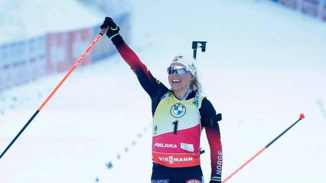 La Norvegia vince l'oro nella staffetta femminile
