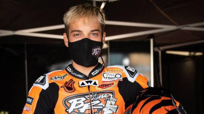 Mirko Gennai, 18 anni fra poco meno di un mese, correrà il Mondiale Superbike