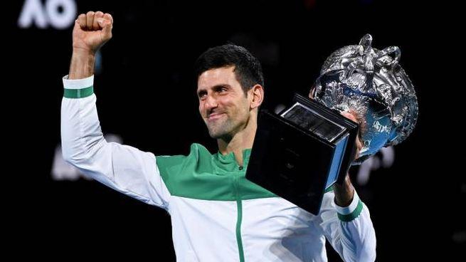 Djokovic vince gli Australian Open 2021 (Ansa)