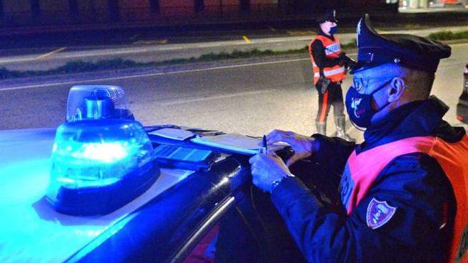 Controlli a tappeto dei carabinieri a Civitanova (foto d'archivio)