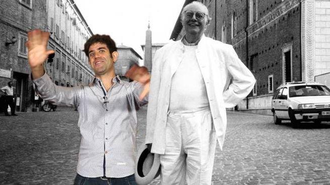 Matthias Martelli e Dario Fo