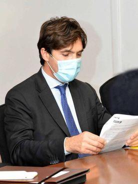 Il governatore delle Marche, Francesco Acquaroli