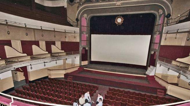 L'interno del vecchio teatro