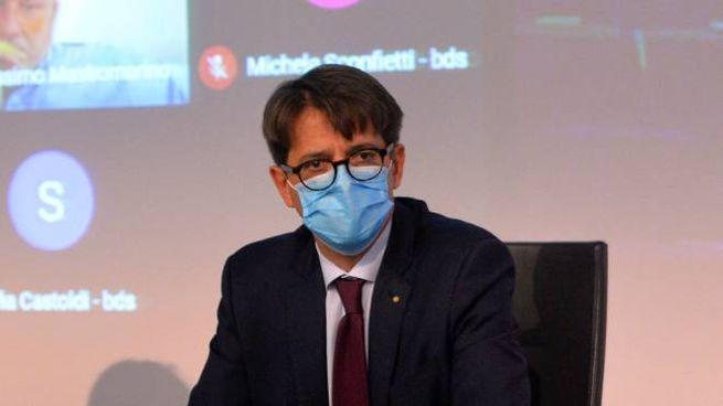 Fabio Lunghi, presidente della Camera di Commercio di Varese