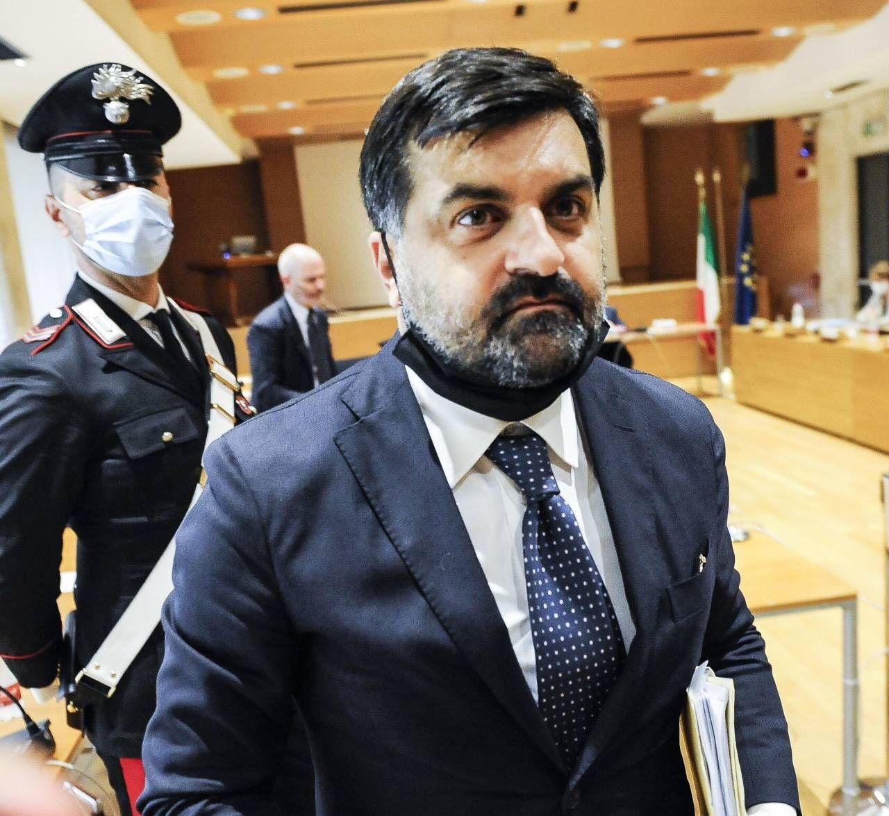 Luca Palamara, 51 anni, romano, ex magistrato ed ex membro del Csm
