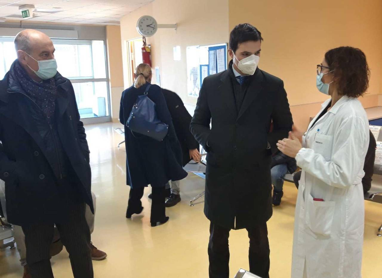 Il presidente Acquaroli a Jesi insieme al sindaco Bacci