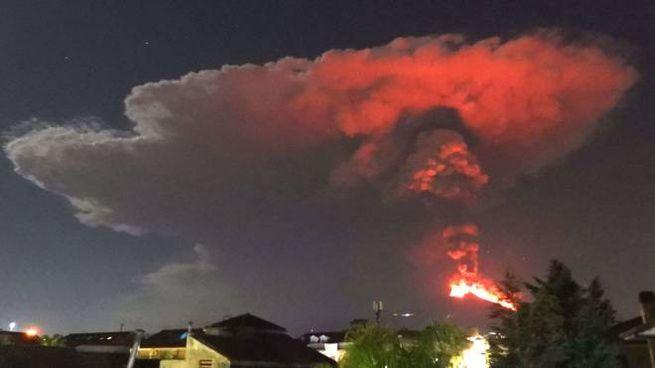 Nuova eruzione Etna