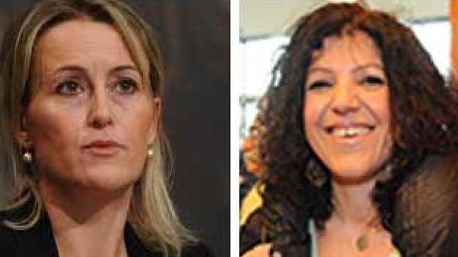 Deborah Bergamini e Tiziana Nisini