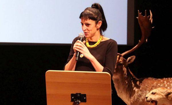 Annalisa Rabitti è assessore alla cultura del Comune di Reggio