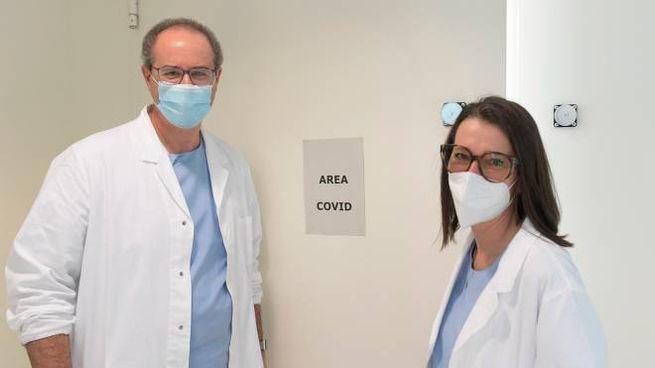 Il primario di Terapia intensiva, Cesare Fabrizio Benanti