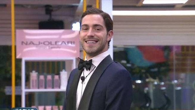 Tommaso Zorzi (Frame video Canale 5)