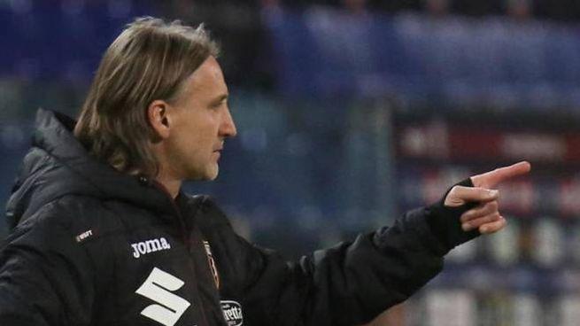 L'allenatore del Torino Davide Nicola (Ansa)
