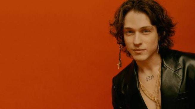 Sanremo 2021, il cantante Irama (Ansa)