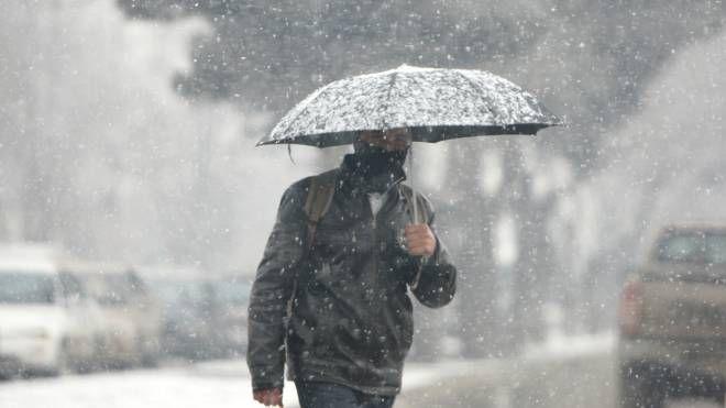 Nevicate (Foto archivio)