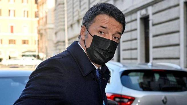 Il leader di Italia viva, Matteo Renzi (Ansa)