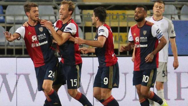 Daniele Rugani in gol contro il Bologna (Ansa)