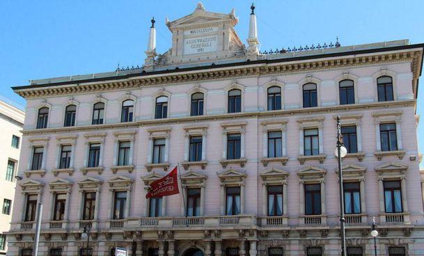 La storica sede delle Assicurazioni Generali a Trieste
