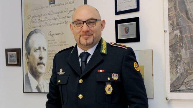 Salvatore Furci, comandante dei vigili urbani a Trezzano sul Naviglio