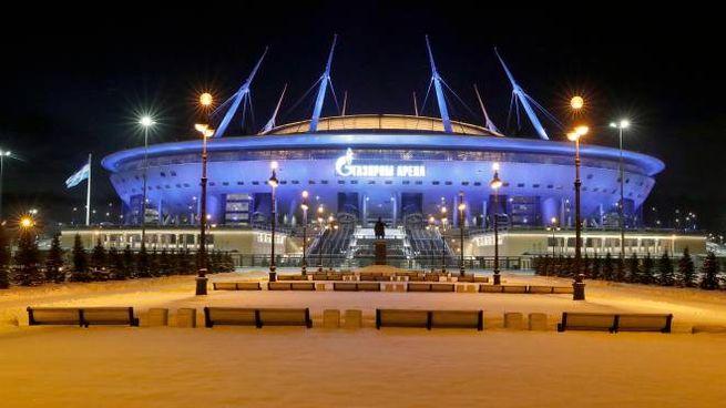 La Saint-Petersburg Arena (Ansa)