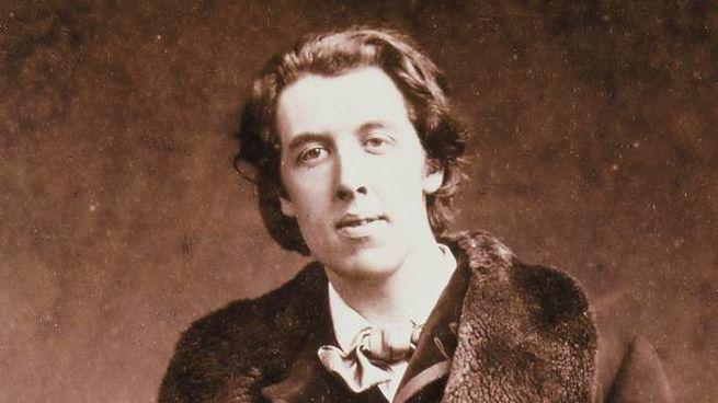 Una celebre foto di Oscar Wilde - Foto: ANSA / PAL
