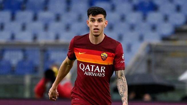 Ibanez con la maglia della Roma