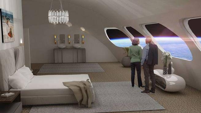 Primo hotel nello spazio