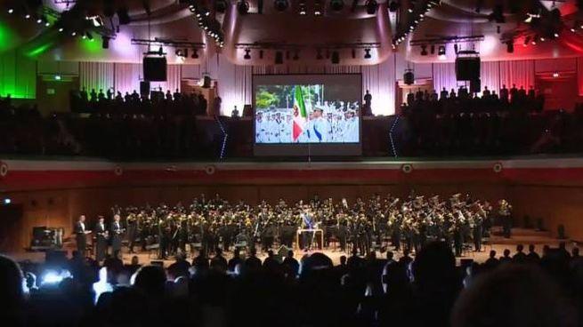 La Banda della Marina Militare a Sanremo nell'ultima serata
