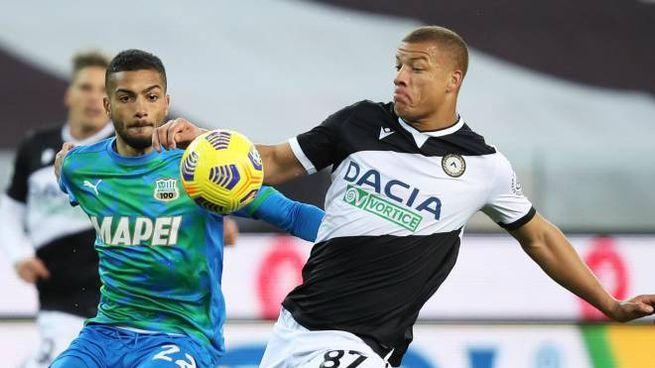 Udinese Sassuolo: Toljan in azione
