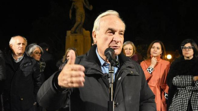 Il sindaco di Corleone, Nicolò Nicolosi