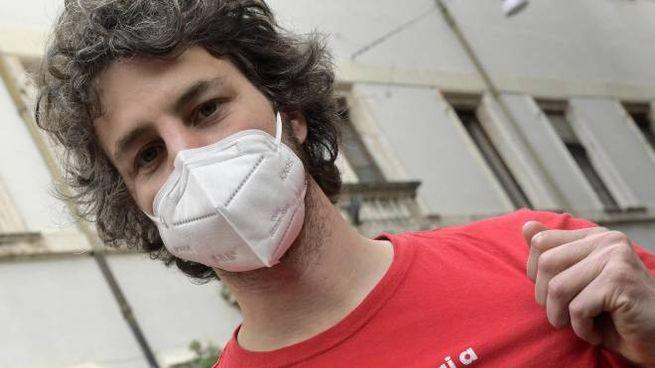 Il leader delle Sardine, Mattia Santori, 33 anni