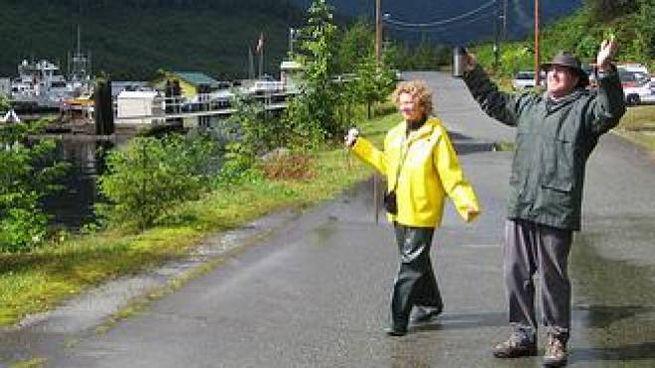 Nella cittadina canadese, costellata da una foresta pluviale, vivono 30 persone