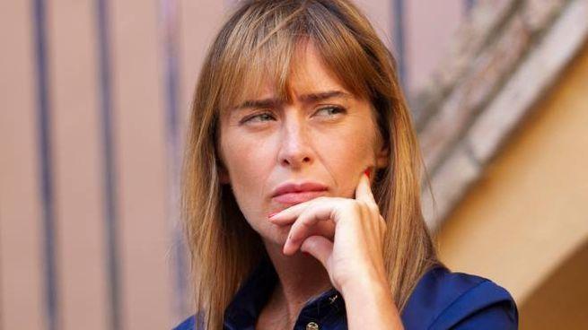 Maria Elena Boschi, 40 anni, capogruppo di Italia Viva alla Camera