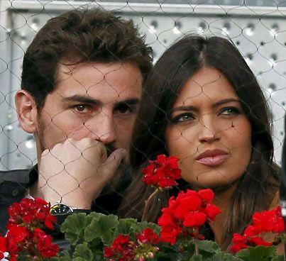 ll calciatore Iker Casillas, 39 anni, e la giornalista Sara Carbonero, 37, si sono sposati nel 2016 a Madrid