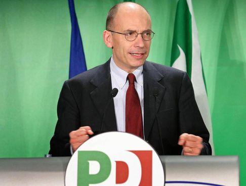 Enrico Letta, 54 anni, è stato vicesegretario del Pd dal 2009 al 2013