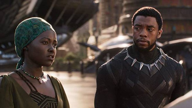 Scena dal film 'Black Panther'