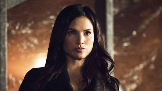 Katrina Law in una scena di 'Arrow'
