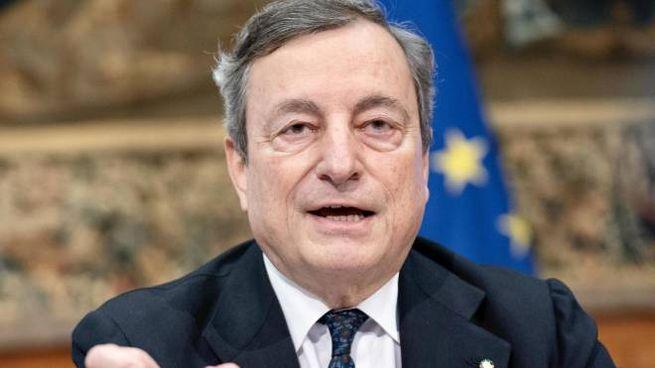 Il presidente del Consiglio, Mario Draghi, 73 anni