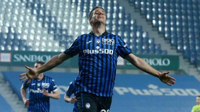 Atalanta-Spezia 3-1, doppietta di Mario Pasalic (Ansa)