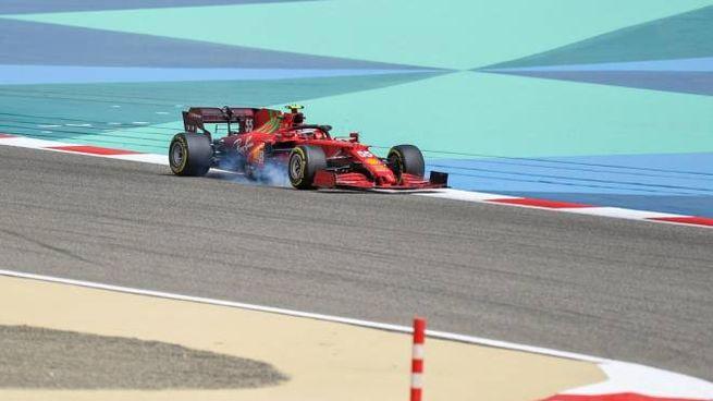 Carlos Sainz Jr in Bahrain (Ansa)