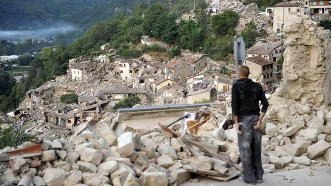 Pescara del Tronto dopo le scosse del 24 agosto 2016