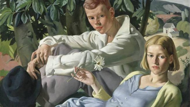 Amity, dipinto nel '33 da Bernard Fleetwood-Walker